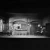 "Lyceum Restaurant (Act I and III). Set designed by Cirker & Robbins for ""Gods of the lightning"" by Maxwell Anderson & Harold Hickerson. NYC: Little Theatre, 1928."