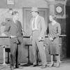 L to R: Horace Braham (Capraro), Charles Bickford (Macready) and Sylvia Sidney (Rosalie).