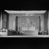 Court Room of the Supreme Court (Act II, Scene 2). Set designed by Cirker & Robbins.
