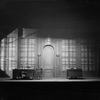 "District Attorney's office (Act II, Scene 1). Set designed by Cirker & Robbins for ""Gods of the lightning"", 1928."
