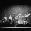 """Scene with Louis Wolheim as Robert Smith """"Yank"""" (extreme right), Mary Blair as Mildred Douglas, Jack Gude as Second Engineer (in uniform)."""