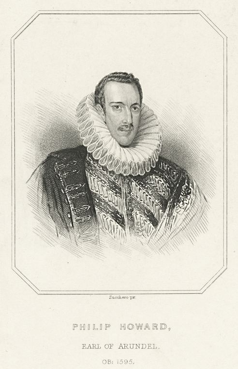 Philip Howard, Earl of Arundel / Zucchero px.