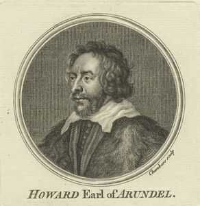 Howard Earl of Arundel / chambars sculp.