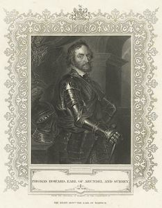 Thomas Howard, Earl of Arundel and Surrey / engraved by H. Robinson.