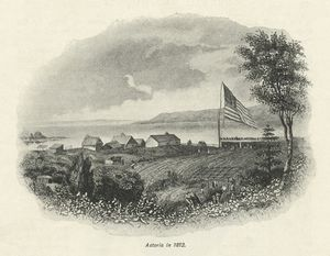 Astoria in 1812 [From The Pall Mall Magazine, pg. 171.]