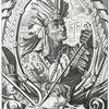 Athabaliba , ultimus Rex Peruanorum - Atabaliba, King of Peru. [2 portraits, both sides].