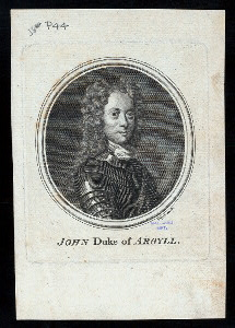 John, duke of Argyll.