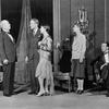 L to R: Walter Walker (Edward Seton), Ben Smith (Johnny Case) with Dorothy Tree (Julia Seton), Hope Williams (Linda Seton) and Monroe Owsley (seated) as Ned Seton.