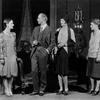 L to R: Dorothy Tree (Julia Seton), Donald Ogden Stewart (Nick Potter), Barbara White (Susan Potter) & Hope Williams (Linda Seton).