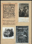 Four prints depicting Saint Augustine.