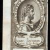 Marc Antonin empereur et philosophe.