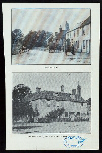 Chawtown village ; Chawtown cottage, the last home of Jane Austen ; Chawtown house ; another view of Chawtown house.