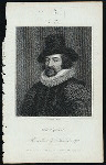 Lord Bacon, from a print