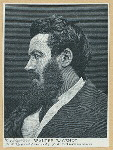 Walter Bagehot. [Engraved from a photograph for the Travellerd Record.]