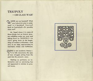 Triopoly or class war?