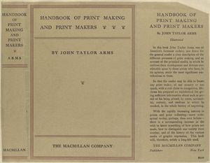 Handbook of print making and print makers.