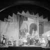 "Scene from ""He Who Gets Slapped"", Theater Guild Production. NYC: Garrick Theater, 1922. Setting by Lee Simonson."
