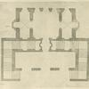 [Plan of a portico and stairs.]