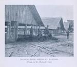 India - rubber sheds at Baringa