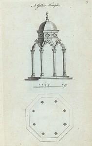 A Gothic temple. (octagon shape).
