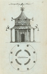 Banqueting house. (Chinese, with four entrances).