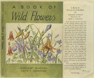 A book of wild flowers.