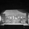 "Set designed by Lee Simonson for Theatre Guild production of Shaw's ""Heartbeak House"", Garrick Theater, NYC: 1920."