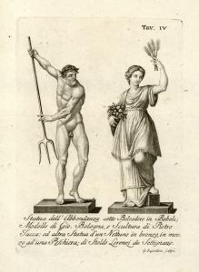 Statua dell' Abbondanza sotto ... Digital ID: 1105266. New York Public Library