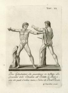 Due Gladiatori, che guardansi ... Digital ID: 1105271. New York Public Library