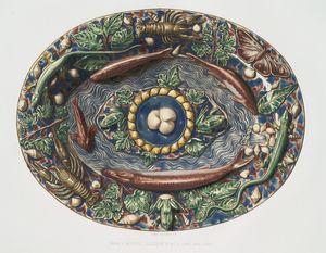 Bassin à reptiles, collection de Mr. le Comte Basilewski.
