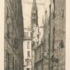 Rue des Chantres.