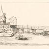 Passerelle du Pont-au-Change, après l'incendie de 1621.