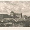[L'Ancien Louvre d'après une peinture de Zeeman.]