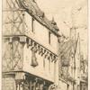 Ancienne habitation à Bourges.