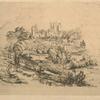 Ruines du Château de Pierrefonds.