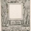 Projet d'encadrement pour le portrait d'Armand Guéraud.]