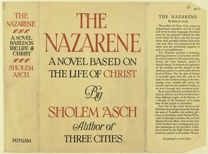 The Nazarene : a novel based on the life of Christ.