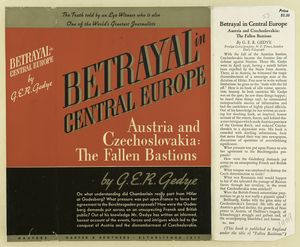 Betrayal in central Europe; Austria and Czechoslovakia: the fallen bastions.