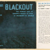 Blackout; the human side of Europe's march to war.