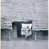 "Entrance to the "" Afin "" or residence of the Alafin of Oyo, showing typical Yoruba thatching."