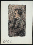 J. M. Barrie, from an original sketch in color by Ernest Haskell.