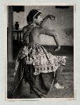 Dance (Miscellaneous). Three dance poses. Dancer: Bagong Kussudiardjo. (Photo: Kesenian Kem P.P.K.)