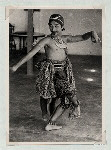 Dance (Miscellaneous). Three dance poses. Dancer: Bagong Kussudiardjo. (Photo: Kesenian Kem P.P.K.)