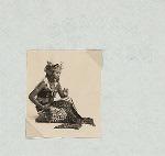Dances, Yogyakarta style. Female dancer.