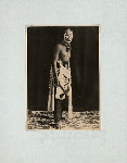 Wayang wong (General). Java, Petroek. (Petruk - clown character in Wayang wong). Central Java.