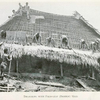 Thatching with palm - leaf (bamboo) mats.