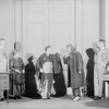 L to R: J.W. Austin (Colonel Pickering), Beryl Mercer (Mrs. Pearce), Lynn Fontanne (Eliza Doolittle), Henry Travers (Mr. Doolittle) & Reginald Mason (Henry Higgins).