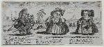 Pigtail Modish Esqr, Miss Coquetilla Sparrowmouth, Abigail Comb-brush, Miss' Waiting Maid