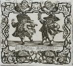 Sir Fopling Fine-Step, an Italian dancing master and Goodman Long Breeches, a boorish bridgegroom