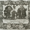 Mercurius Sublimate, a chymist, and his man Crucible